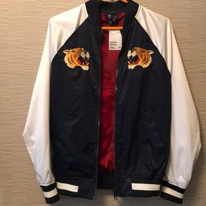"""New With Tags H&M """"Japan"""" Bomber Jacket XS"""